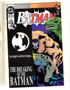Batman # 497 NM DC Comic Book Joker Robin Knightfall Part 11 Catwoman Ivy JF11
