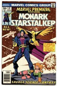 MARVEL PREMIERE #32-First MONARK STARSTALKER. -1977