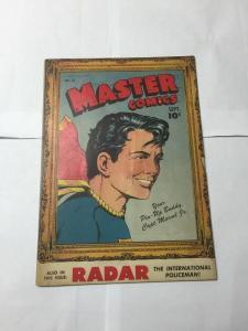 Master Comics 54 6.0 Fine F