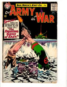 Our Army At War # 146 VG/FN DC Comic Book Sgt. Rock 1964 Navy Marines Tank J305