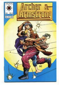 ARCHER AND ARMSTRONG #0-First APPEARANCE-key issue-Valiant