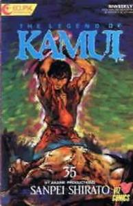 Legend of Kamui, The #35 VF/NM; Eclipse | save on shipping - details inside