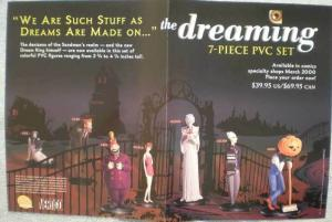 DREAMING PVC Promo poster, 17 x 11, 1999, Unused, more in our store