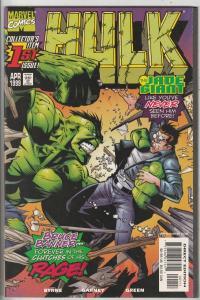 Hulk #1 (Apr-99) NM+ Super-High-Grade Hulk, Bruce Banner