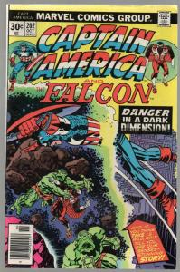 CAPTAIN AMERICA 202 FN Oct. 1976