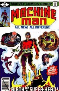 Marvel MACHINE MAN (1978 Series) #10 FN