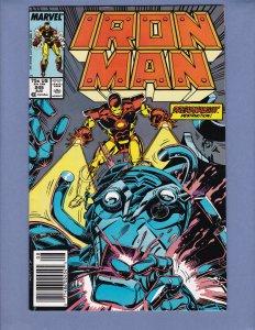 Iron Man #245 NM- Marvel 1989