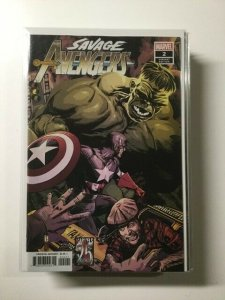Savage Avengers 2 Variant Near Mint Marvel HPA