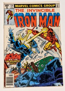 Iron Man #124 (Jul 1979, Marvel) VF- 7.5 Whiplash and Blizzard appearance