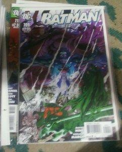 Batman #709 2011 dc comics  judgement on gotham pt 4 catgirl robin Ra's al GHUL