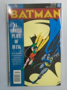 Batman a Lonely Place of Dying TPB (1990 1st Print) 6.0/FN