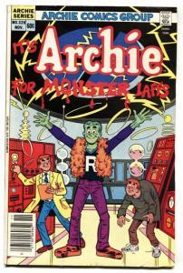 Archie Comics #326 1983-Frankenstein cover