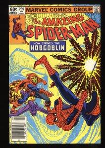 Amazing Spider-Man #239 FN+ 6.5 2nd Hobgoblin! Marvel Comics Spiderman