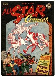 All Star Comics #30 1946 Justice Society  Green Lantern  Wonder Woman VF