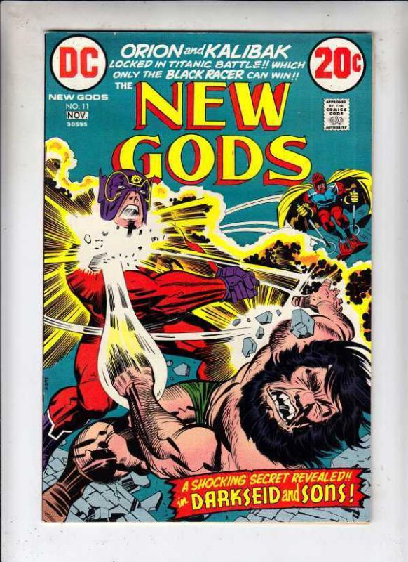 New Gods 11 strict NM- 1972 Kirby High-Grade Wythville Collection @ Kermitspad