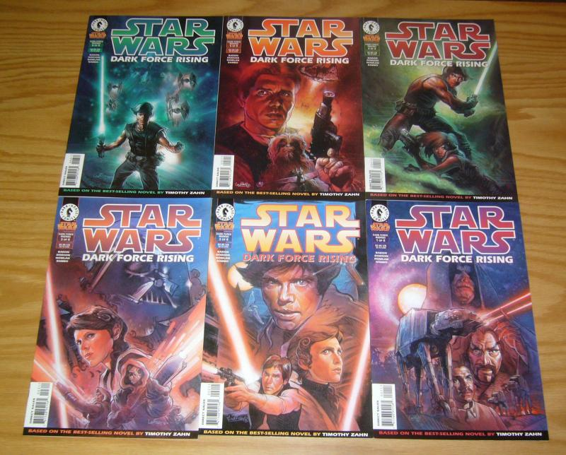 Star Wars: Dark Force Rising #1-6 VF/NM complete series based on timothy zahn