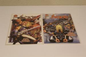 Crossgen Comics SCION #1 & #2  VF(SIC580)