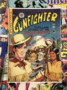 Gunfighter #12 G/VG 3.0 wild west 10c GOLDEN AGE ec comic AMERICANA western