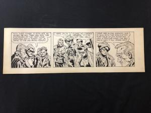 Terry and the Pirates Original Comic Strip Art undated & unsigned
