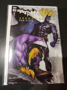 BATMAN THE MAXX ARKHAM DREAMS #1 NYC COMIC CON VARIANT