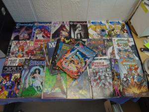36 Assorted Sexy and Action Comic Books Antarctic Serina Sirius Domino Lady MINT