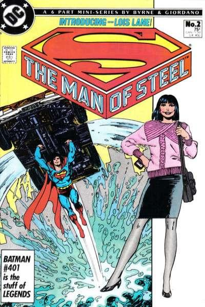 Man of Steel #2, VF+ (Stock photo)