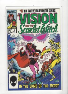 Vision and the Scarlet Witch (1985 series) #5 of 12  VF/NM Marvel Comics