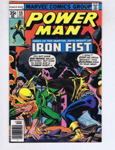 POWER MAN & IRON FIST #48, VF/NM, Luke Cage, 1974 1977, Kung-Fu, 1st Team up