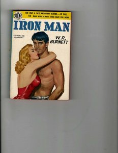 3 Books Iron Man The Blue Negro The Crimson Feather Romance Mystery Drama JK23