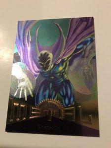 STRANGE #61 card : Marvel Metal 1995 Fleer Chromium; NM/M Dr. New Warriors, base
