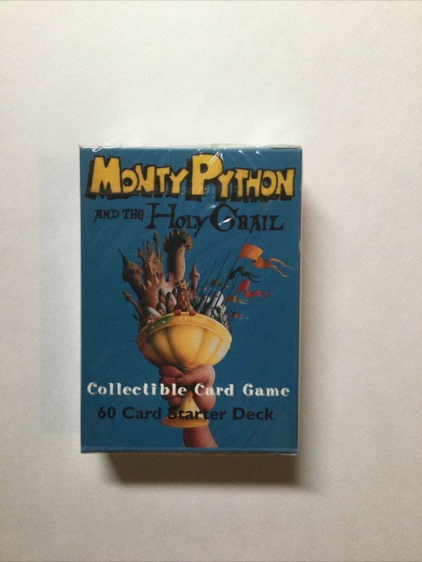 Monty Python And The Holy Grail Card Game 60 Card Starter Deck Sealed 1996
