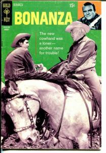 Bonanza #37 1970-Gold Key-last issue-Lorne Green-Michael Landon-VG