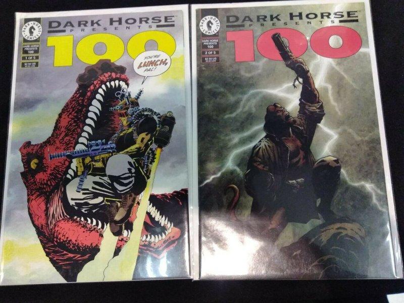 Dark Horse Presents 100 #1-5 Mini Series 1 2 3 4 5 FULL RUN 1995 HELLBOY APPEARS