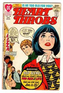 HEART THROBS #140 1972 DC-ROMANCE-FN--GHETTO-RACISM THEMED STORY VG