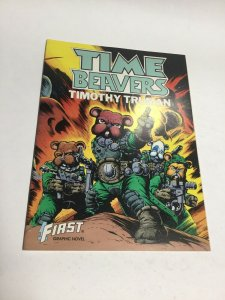Time Beavers SC Softcover Oversized Timothy Truman First Graphic Novel
