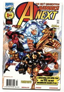 A-NEXT #1 1st appearance of Stinger and Mainframe comic book Marvel