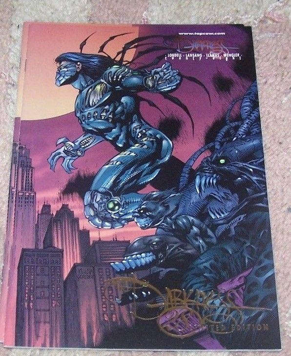 the darkness #28 image 2000 RARE MID WEST GOLD FOIL EXCLUSIVE EDITION witchblade