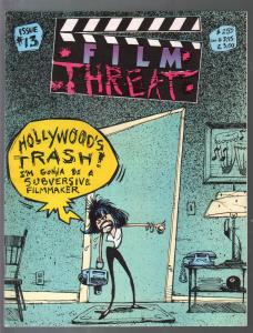 Film Threat #13 1987-double cover-edition-exploitation films-Bruce Campbell-VF