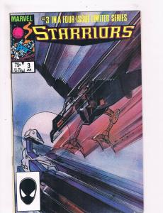 Starriors # 3 VF Marvel Comic Book Copper Age 1984 Space Series Issue TC1