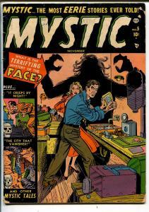 Mystic #5 1951-Atlas-pre-code horror-vampire text story-Jerry Robinson-VG-