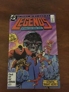 Legends 1 Dc Comics Nm Near Mint