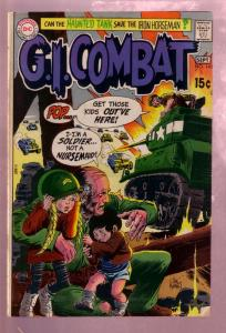 G.I. COMBAT #143 1970- THE HAUNTED TANK-JOE KUBERT ART FN