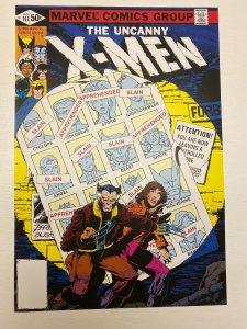 Uncanny X-Men 141 Marvel Comics poster by John Byrne Wolverine Jean Grey