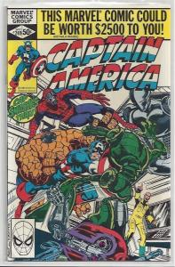 Captain America #249 Autographed Old School Style by John Byrne