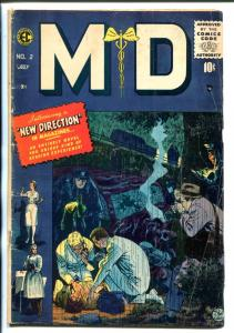 MD #4-1955-EC-POST CODE--JOHNNY CRAIG COVER-INGLES-ORLANDO-EVANS-vg