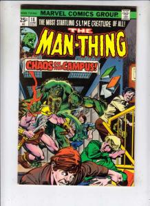 Man-Thing #18 (Jul-75) NM- High-Grade Man-Thing