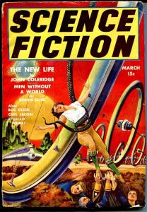 Science Fiction #6 3/194-Double Action-Frank R Paul-bizarre giant wheels-VG/FN