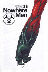 Nowhere Men #3, NM (Stock photo)