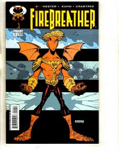 10 Comic Books Firebreather 1 2 3 4 + Beanworld # 6 8 9 10 + Kane # 29 30 CJ4