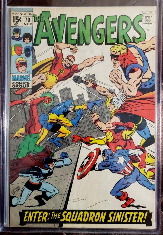 The Avengers #70 (1969)